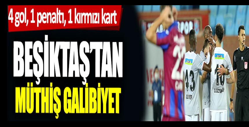Trabzonspor-Beşiktaş maçı başladı: TS-BJK Canlı Yayın… TS BJK canlı izle