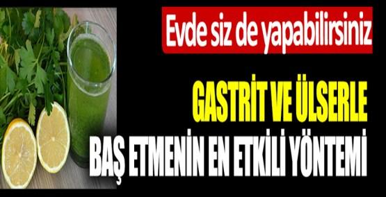 Gastrit ve Ülserle baş etmenin en etkili yöntemi