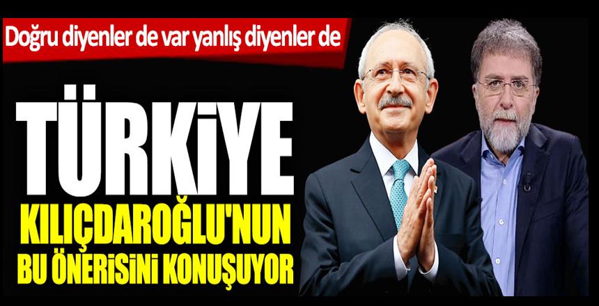 Doğru diyenler de var yanlış diyenler de! Türkiye Kılıçdaroğlu'nun bu önerisini konuşuyor