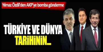Yılmaz Özdil'den AKP'ye bomba gönderme! Türkiye ve Dünya tarihinin…