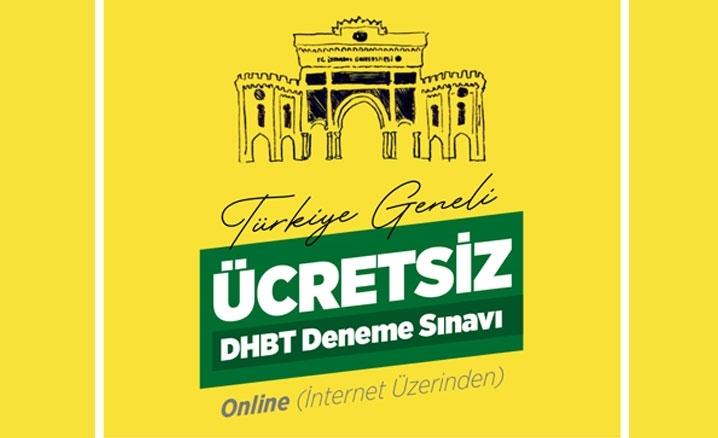 İstanbul Üniversitesi ücretsiz çevrimiçi 'DHBT Deneme Sınavı' yapacak