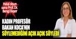 Kadın profesör Bakan Koca'nın söylemediğini açık açık söyledi. Helal olsun sana Prof. Dr. Bengi Başer