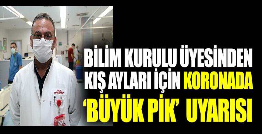 Bilim Kurulu Üyesi Prof. Dr. Murat Gündüz'den kış ayları için koronada büyük pik uyarısı