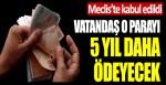 AKP'li vekiller Meclis'e getirdi! Vatandaş 5 yıl daha kayıp/kaçak bedeli ödeyecek