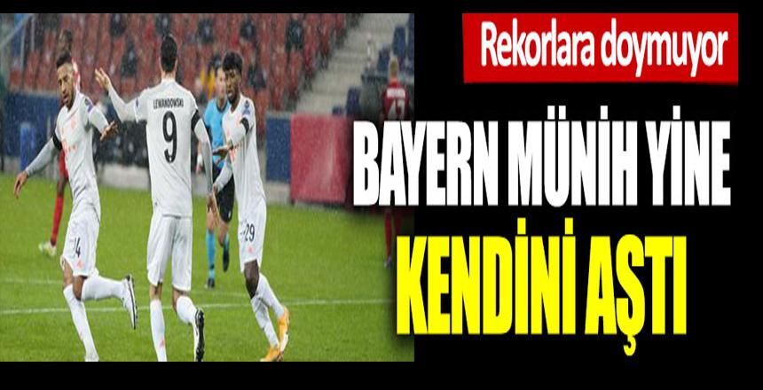 Bayern Münih yine kendini aştı. Rekorlara doymuyor