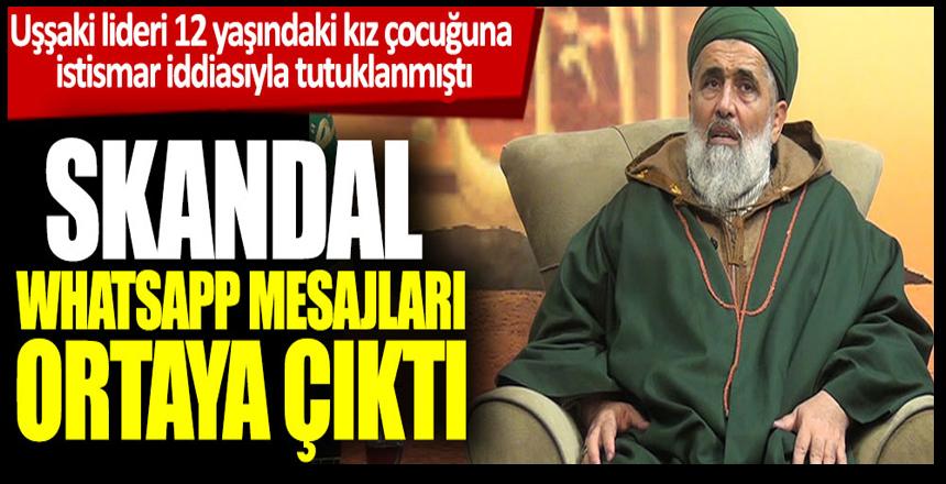 Uşşaki lideri Fatih Nurullah'ın skandal WhatsApp mesajları ortaya çıktı