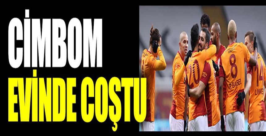 Galatasaray evinde şov yaptı. Denizlispor'a tam 6 gol attı