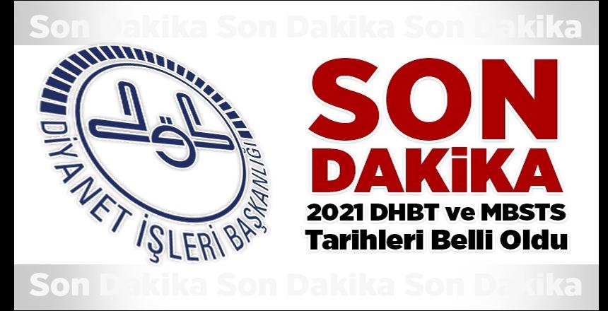 2021 sınav takvimi açıklandı, DHBT tarihi belli oldu