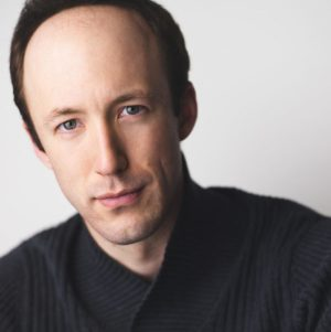 Headshot portrait of a man