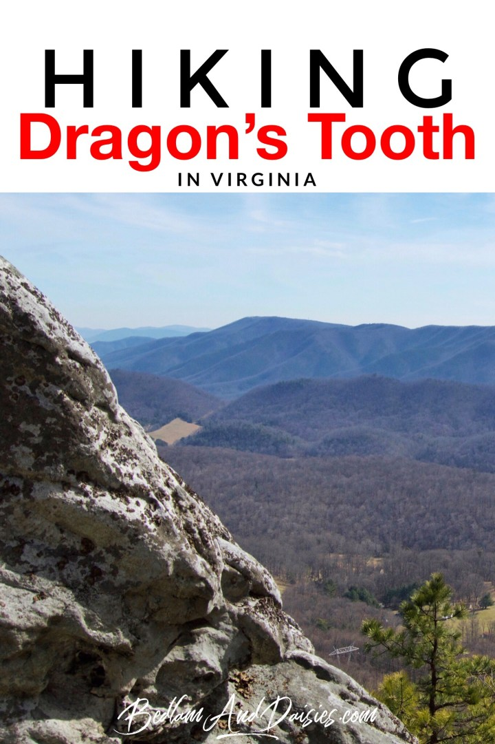 Hiking Dragon's Tooth in Virginia