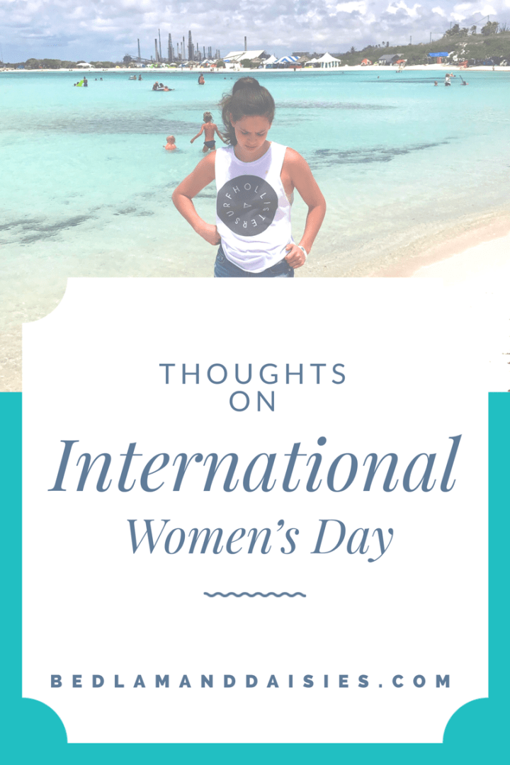 Thoughts on International Women's Day
