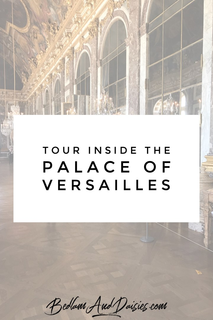 Tour inside the palace of versailles