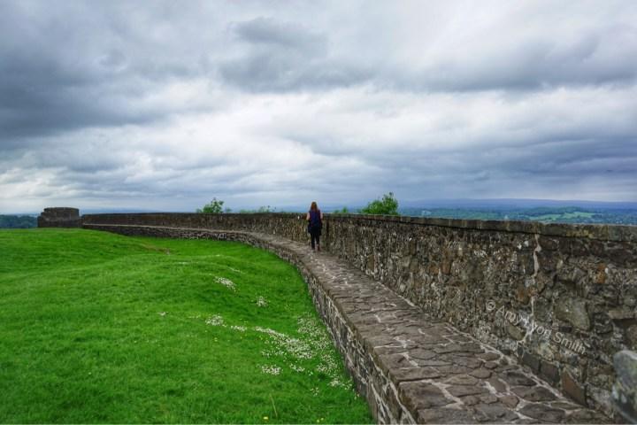 Stirling Castle wall - Stirling Scotland