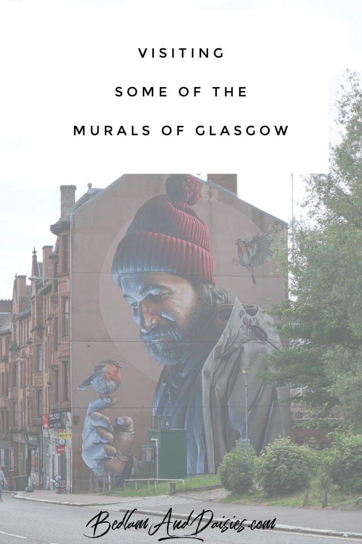 Visiting Some of the Murals of Glasgow