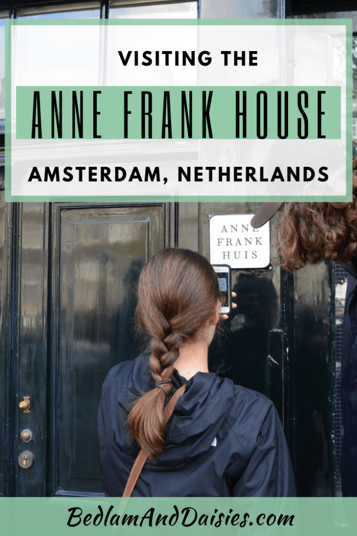Visiting the Anne Frank House