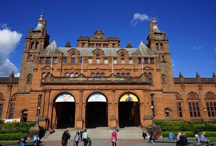 Listed as one of the top three free- to-enter attractions in Scotland, the Kelvingrove Art Gallery and Museum in Glasgow did not disappoint. Check it out.