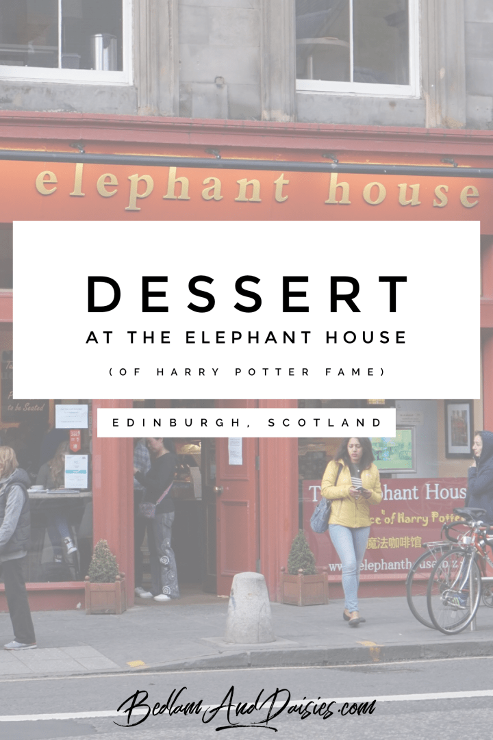 The Elephant House – Edinburgh Scotland
