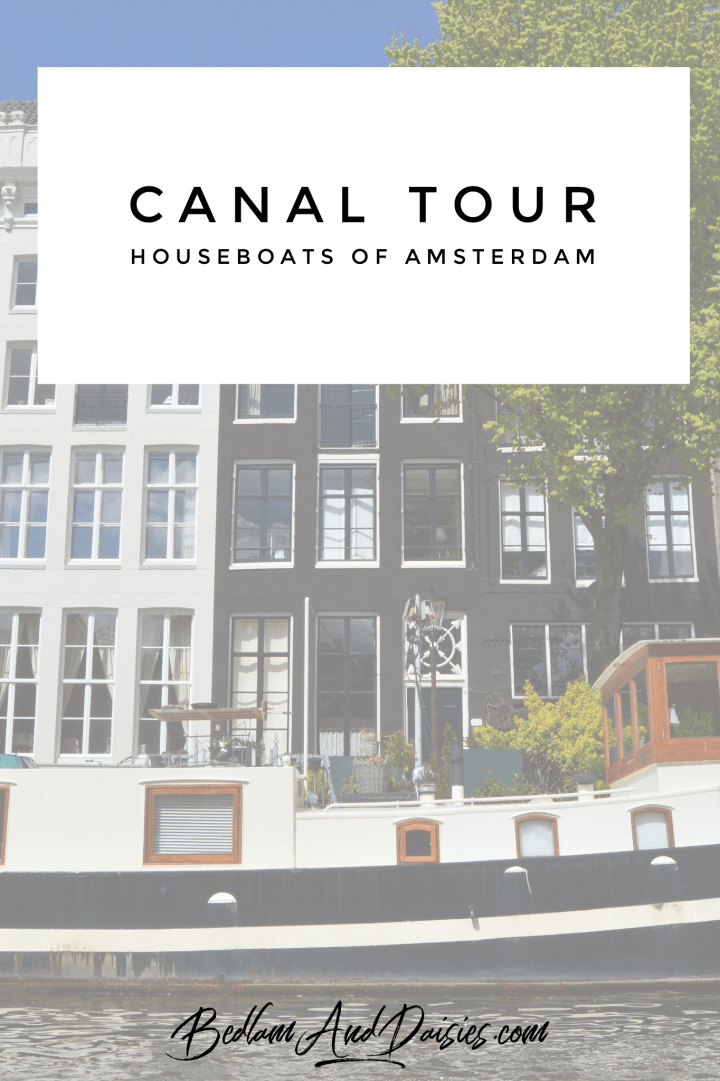 Canal Tour Houseboats of Amsterdam