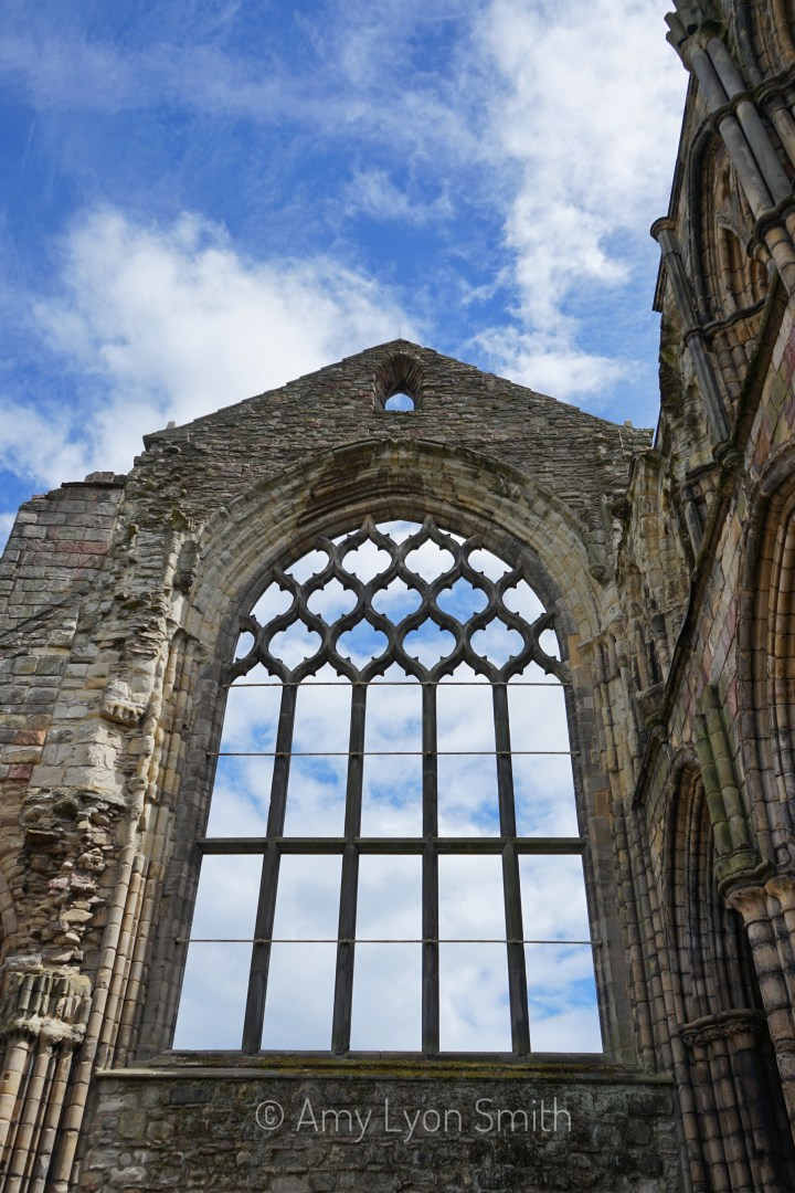 Holyrood Abbey in Edinburgh Scotland