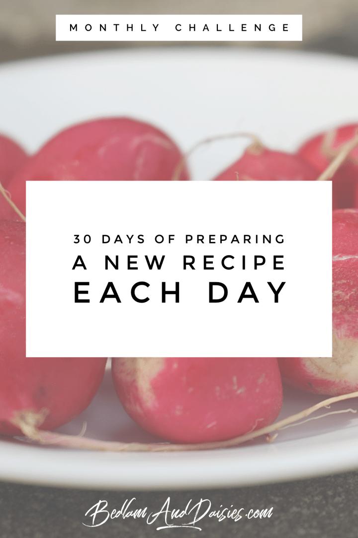 30 Days Of…November Challenge