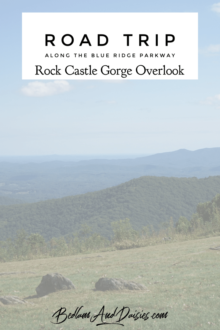 Blue Ridge Parkway – Rock Castle Gorge Overlook