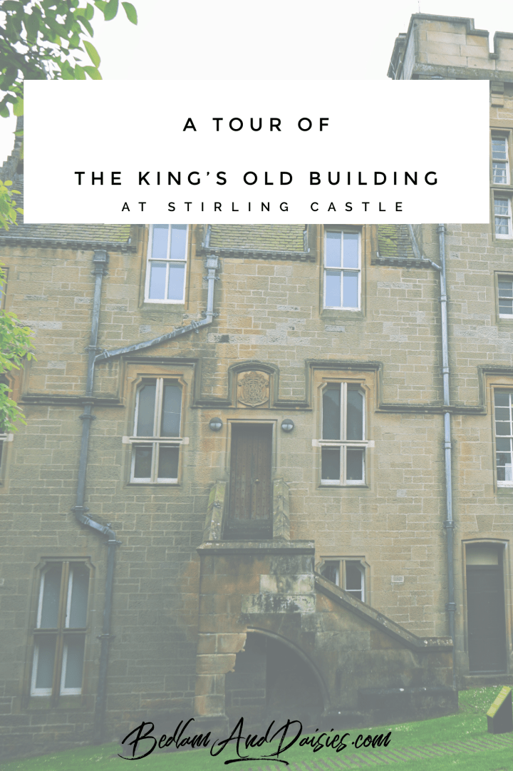 The King's Old Building At Stirling Castle
