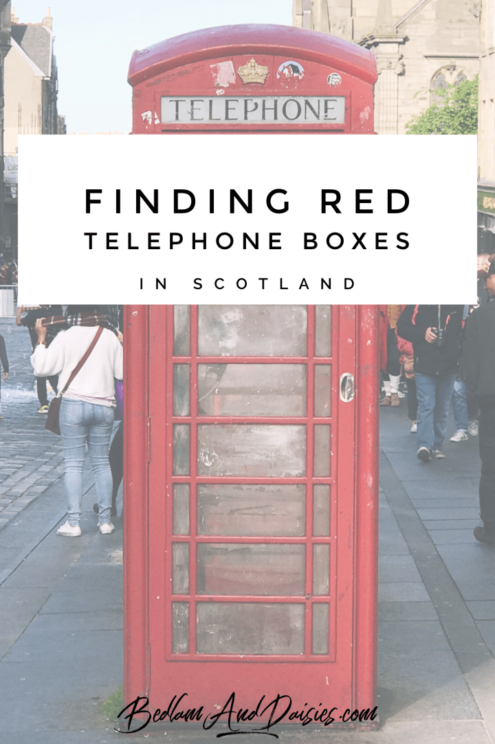 Finding Red Telephone Boxes in Scotland