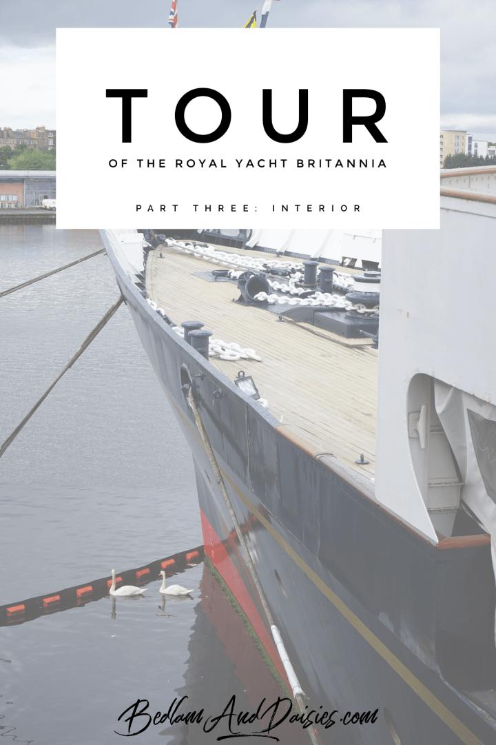 Tour of the Royal Yacht Britannia. Part three: interior