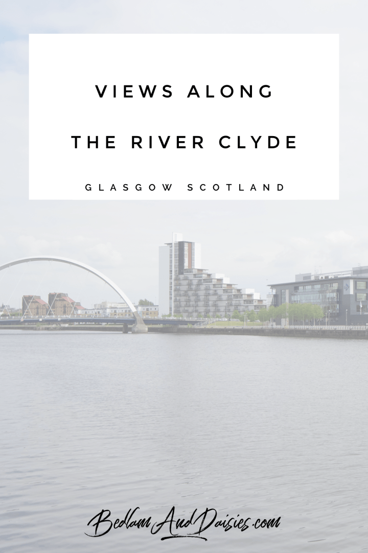 Views Along the River Clyde in Glasgow, Scotland