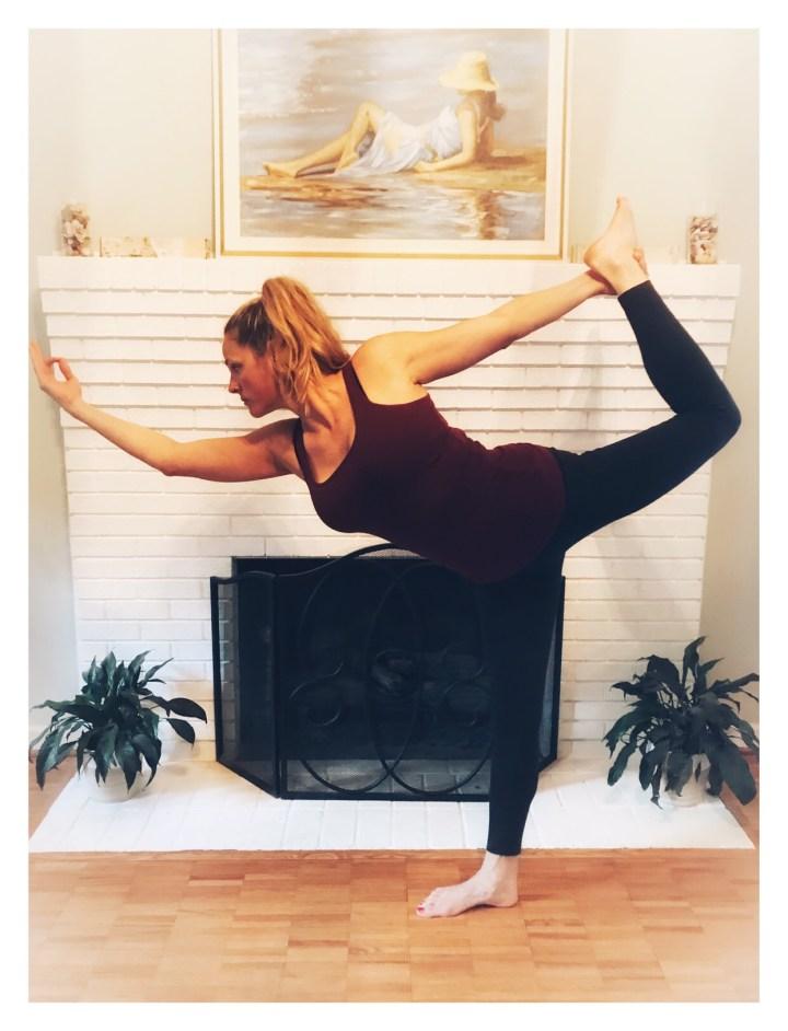 Dancer Pose yoga Amy Lyon Smith