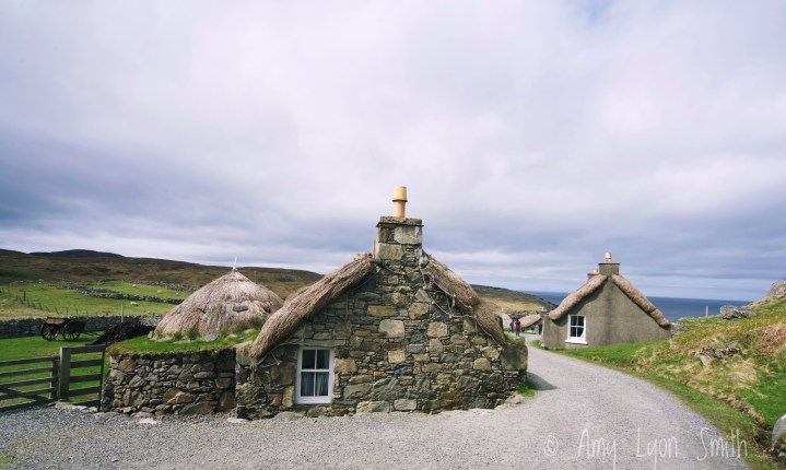 Gearrannan Blackhouse Village. Carloway. Isle of Lewis. Outer Hebrides. Scotland.