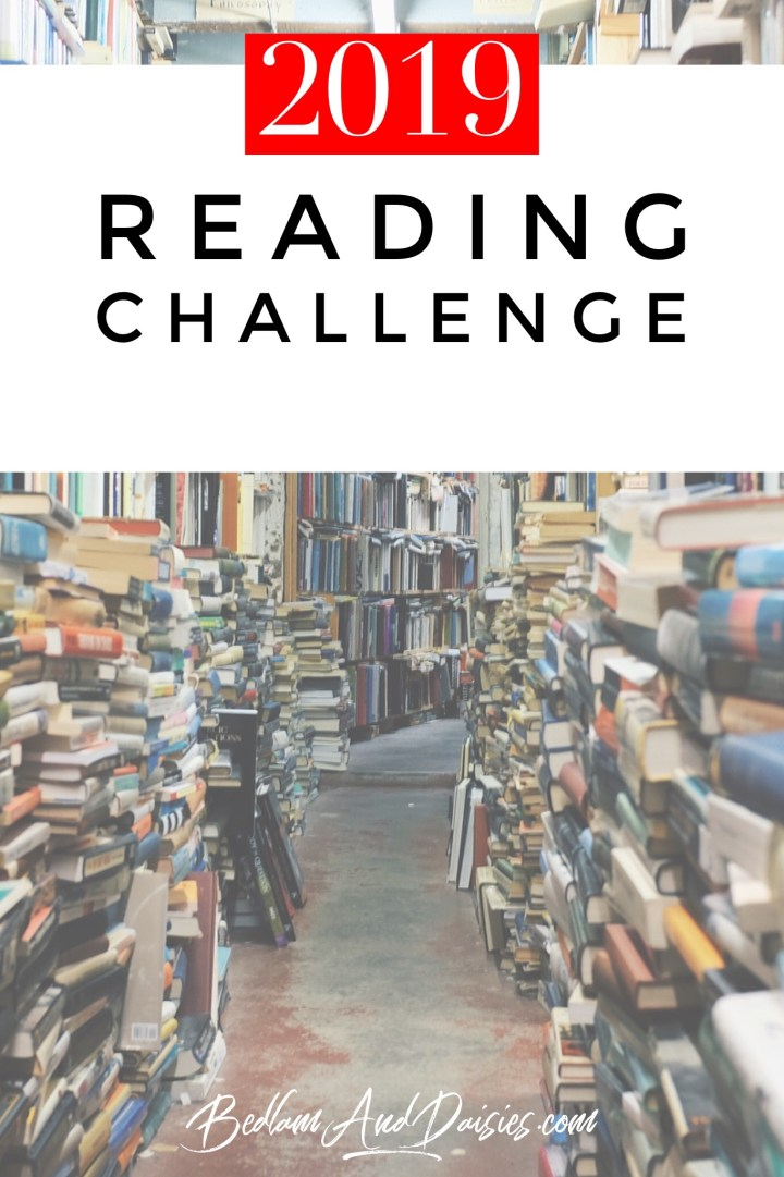 In 2018 I had a reading challenge and participated in Modern Mrs. Darcy's reading challenge. I loved it so much that I'm doing it again in 2019. Join me!