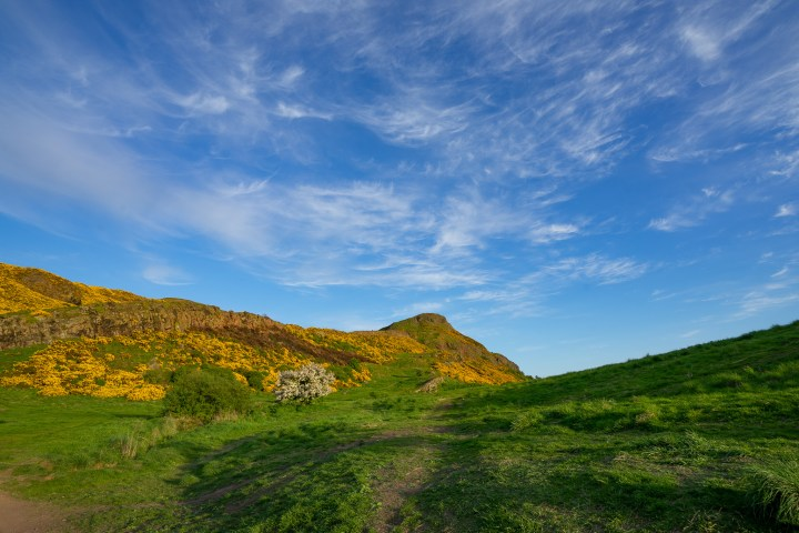 Virtual Hike of Arthur's Seat in Edinburgh Scotland