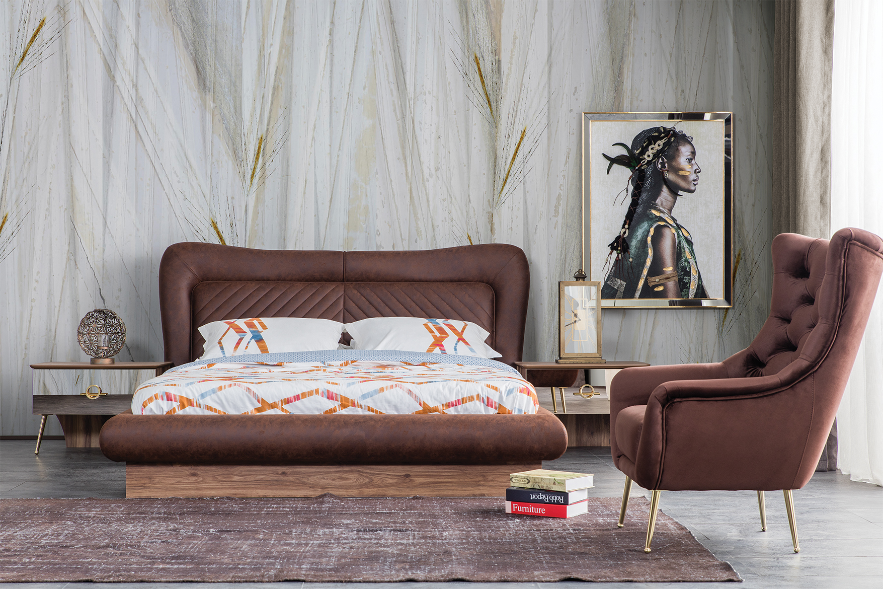 BW037-18 Bed New Arrival