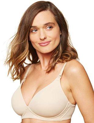 Women's Maternity Lightly Lined Wireless Nursing Bra