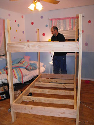 Free Bunk Bed Plans Free Download PDF DIY small woodworking projects ...