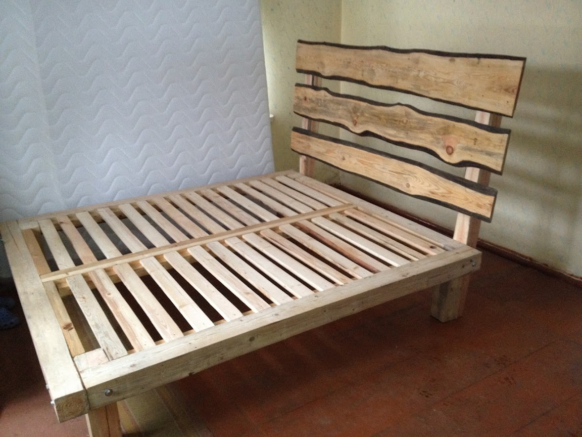 Free King Size Bed Frame Plans Woodworking