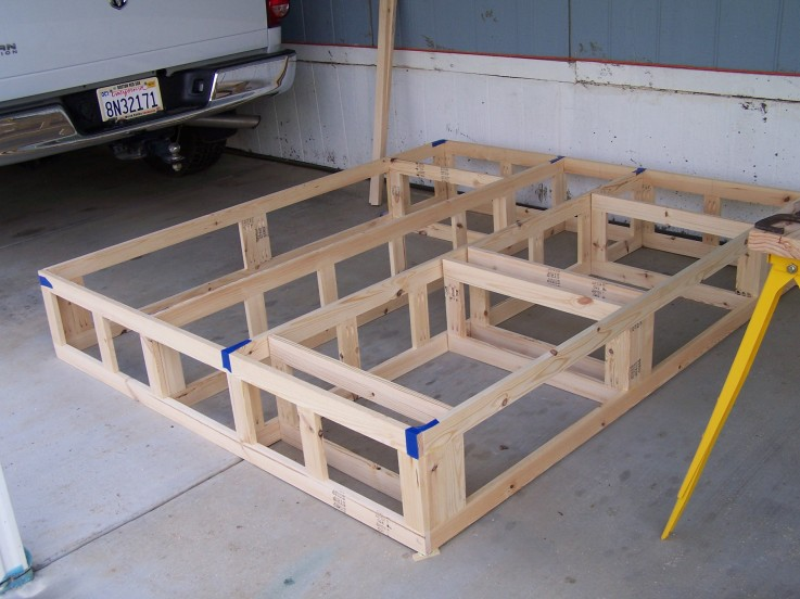 PDF Plans Diy Platform Bed Frame With Storage Download ...