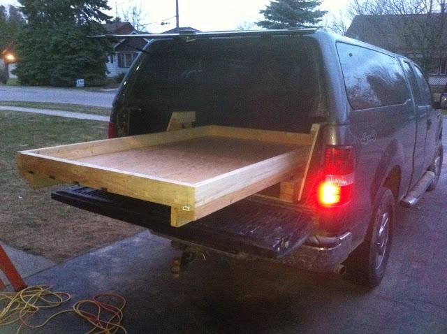 Truck Bed Slide Plans Bed Plans Diy Amp Blueprints