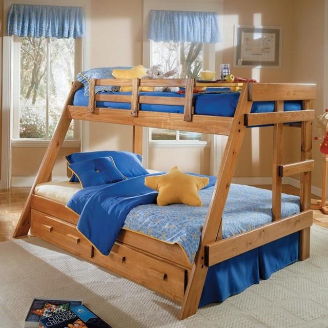 Bunk Bed Plans Twin Over Full Bed Plans Diy Amp Blueprints