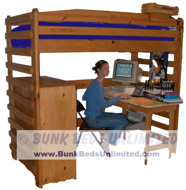 College Loft Bed Plans | BED PLANS DIY & BLUEPRINTS