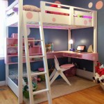 Bunk Bed With Desk Plans Marcuscable Com