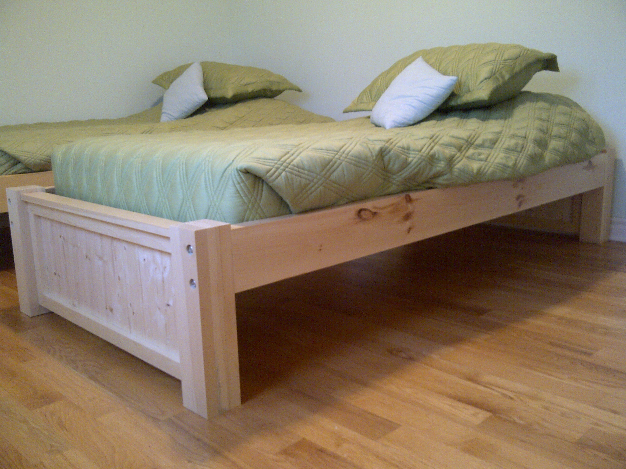 How to Build Twin Platform Bed Plans Storage Plans ...