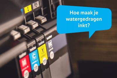 32 watergedragen inkt