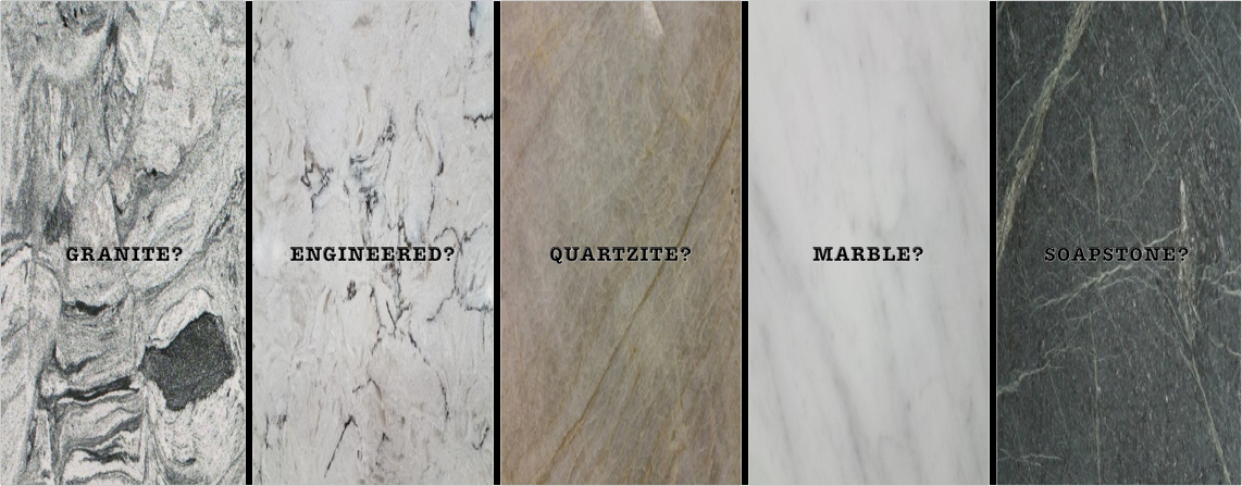 Stone Choices Selecting Stone 187 Bedrock Granite Co