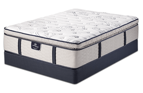 Serta Perfect Sleeper Proenergy Super Pillow Top Elite Luxury Gel Memory Foam