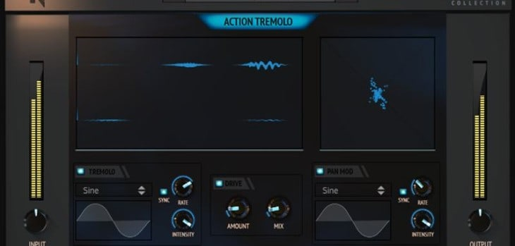 Noiseash Releases Free Action Tremolo VST/AU/AAX Plugin