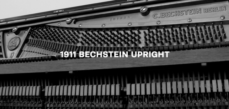 FREE 1911 Bechstein Upright Piano For Native Instruments Kontakt