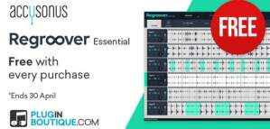 Regroover Essential Is FREE With Any Purchase @ Pluginboutique!