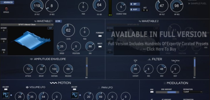 WAVE-LITE Is A FREE Wavetable Synthesizer For HALion Sonic SE